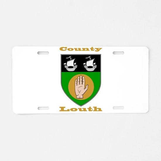 County Louth COA Aluminum License Plate