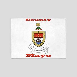County Mayo COA 5'x7'Area Rug