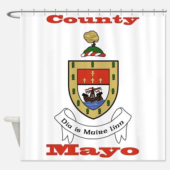 County Mayo COA Shower Curtain