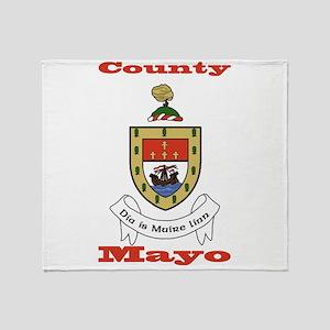 County Mayo COA Throw Blanket