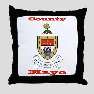 County Mayo COA Throw Pillow