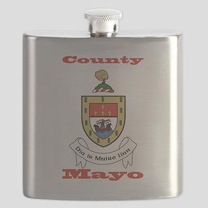 County Mayo COA Flask