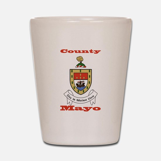 County Mayo COA Shot Glass