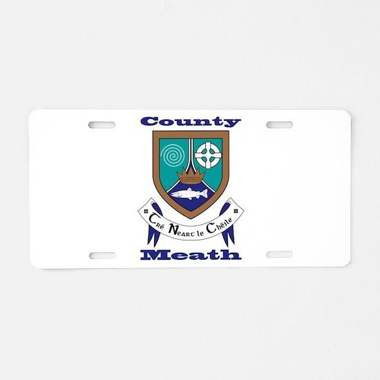 County Meath COA Aluminum License Plate