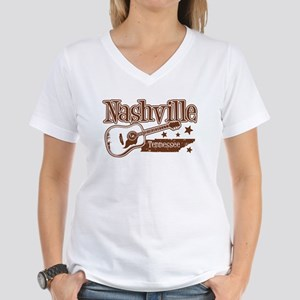 Nashville Tennessee Women's V-Neck T-Shirt