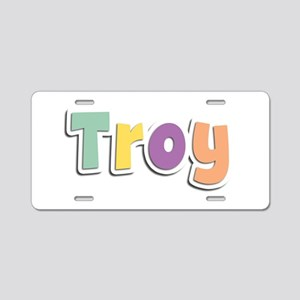 Troy Spring14 Aluminum License Plate