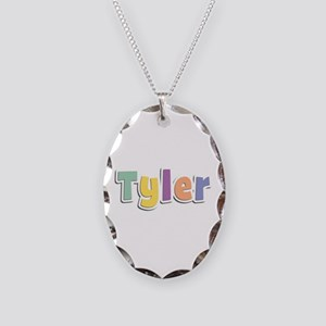 Tyler Spring14 Oval Necklace
