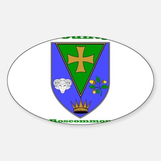 County Roscommon COA Decal