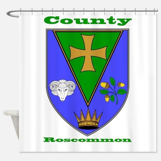 County Roscommon COA Shower Curtain