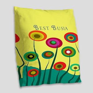 Busia FF 10 Burlap Throw Pillow