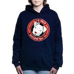 Pit Bulls: Just Love 'em Women's Hooded Sweatshirt