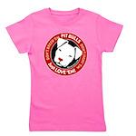 Pit Bulls: Just Love 'em! Girl's Tee