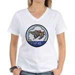 VP-45 Women's V-Neck T-Shirt