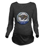 VP-45 Long Sleeve Maternity T-Shirt