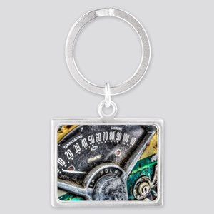 Classic American icon Landscape Keychain