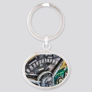 Classic American icon Oval Keychain