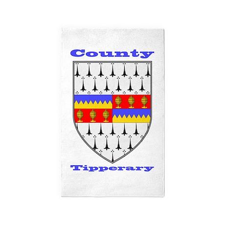 County Tipperary COA 3'x5' Area Rug