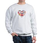 Russia World Cup 2014 Heart Sweatshirt