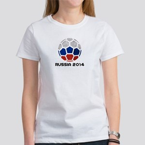 Russia World Cup 2014 Women's T-Shirt