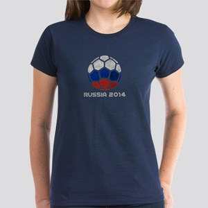 Russia World Cup 2014 Women's Dark T-Shirt