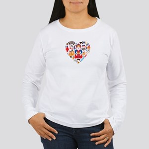 Russia World Cup 2014 Women's Long Sleeve T-Shirt
