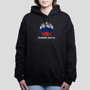 Russia World Cup 2014 Women's Hooded Sweatshirt