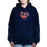 Russia World Cup 2014 He Women's Hooded Sweatshirt