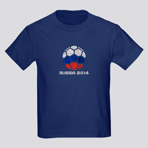 Russia World Cup 2014 Kids Dark T-Shirt