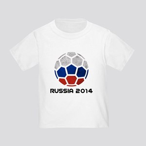 Russia World Cup 2014 Toddler T-Shirt
