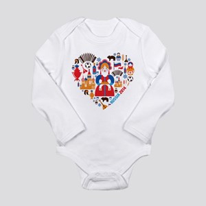 Russia World Cup 2014 Long Sleeve Infant Bodysuit