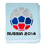 Russia World Cup 2014 baby blanket