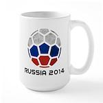 Russia World Cup 2014 Large Mug