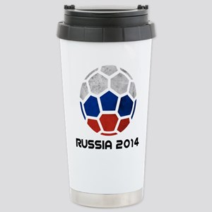 Russia World Cup 2014 Stainless Steel Travel Mug