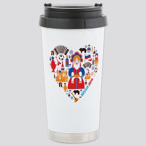 Russia World Cup 2014 H Stainless Steel Travel Mug