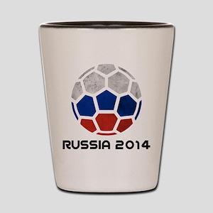 Russia World Cup 2014 Shot Glass