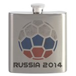Russia World Cup 2014 Flask
