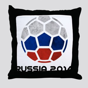 Russia World Cup 2014 Throw Pillow