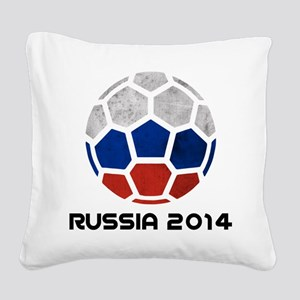 Russia World Cup 2014 Square Canvas Pillow