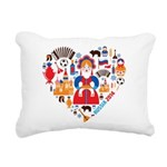 Russia World Cup 2014 He Rectangular Canvas Pillow