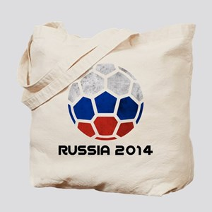 Russia World Cup 2014 Tote Bag