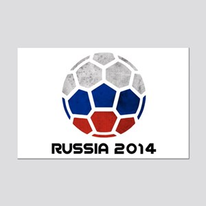 Russia World Cup 2014 Mini Poster Print