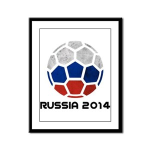 Russia World Cup 2014 Framed Panel Print