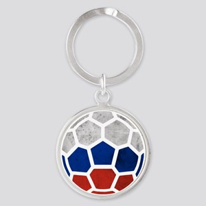 Russia World Cup 2014 Round Keychain