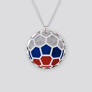 Russia World Cup 2014 Necklace Circle Charm