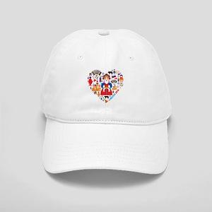Russia World Cup 2014 Heart Cap