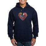 South Korea World Cup 2014 Heart Hoodie (dark)