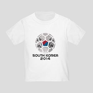 South Korea World Cup 2014 Toddler T-Shirt