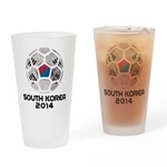 South Korea World Cup 2014 Drinking Glass