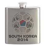 South Korea World Cup 2014 Flask