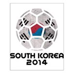 South Korea World Cup 2014 Small Poster
